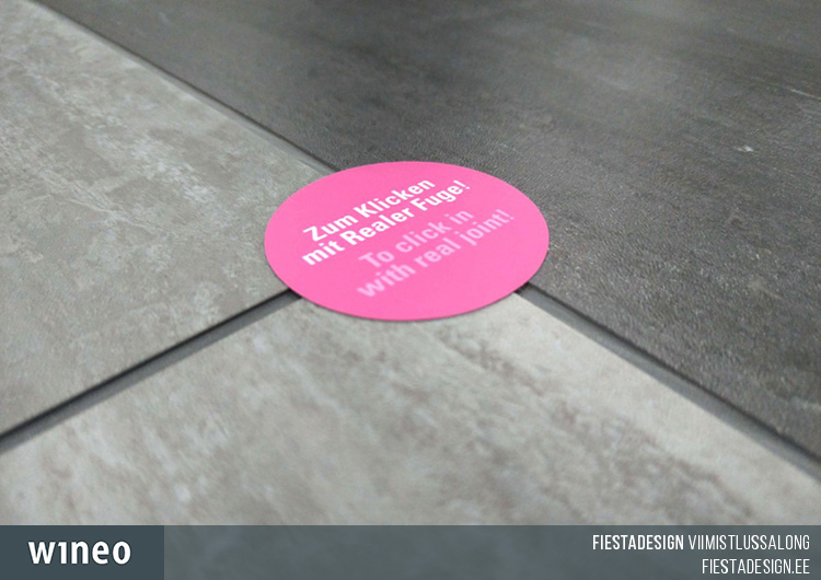 LVT wineo 400 stone click - real joint