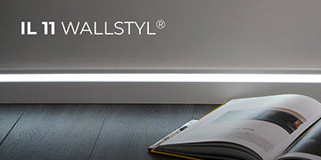 LED sokliliistud Wallstyl